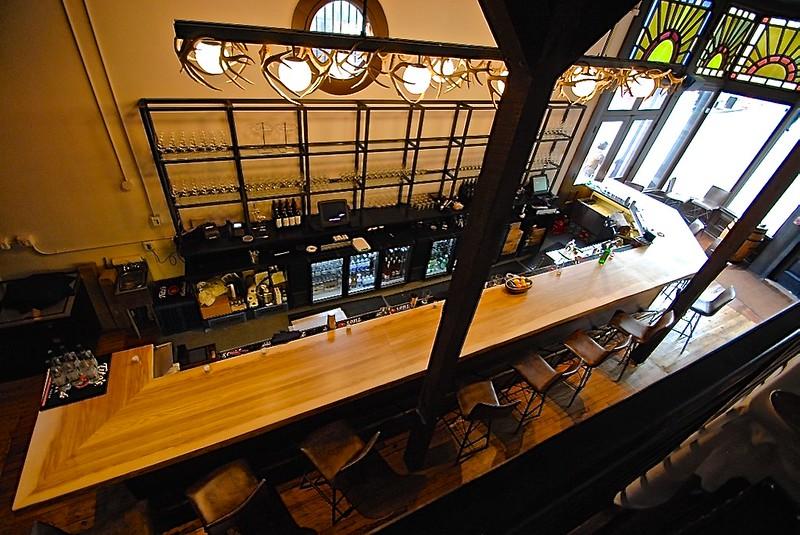 Lonesome Dove Live Edge Bar